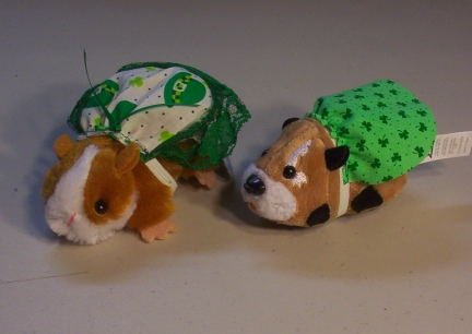 St Pat's Toy Hamsters